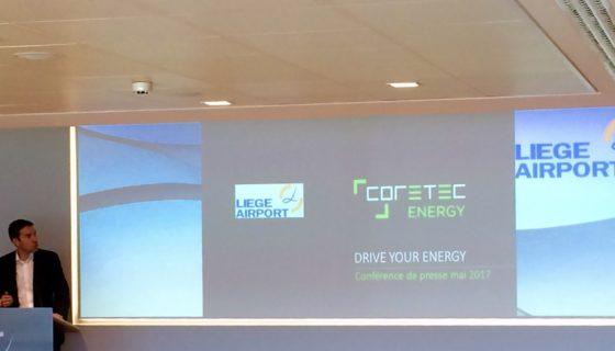 Conférence de Presse à Liege Airport