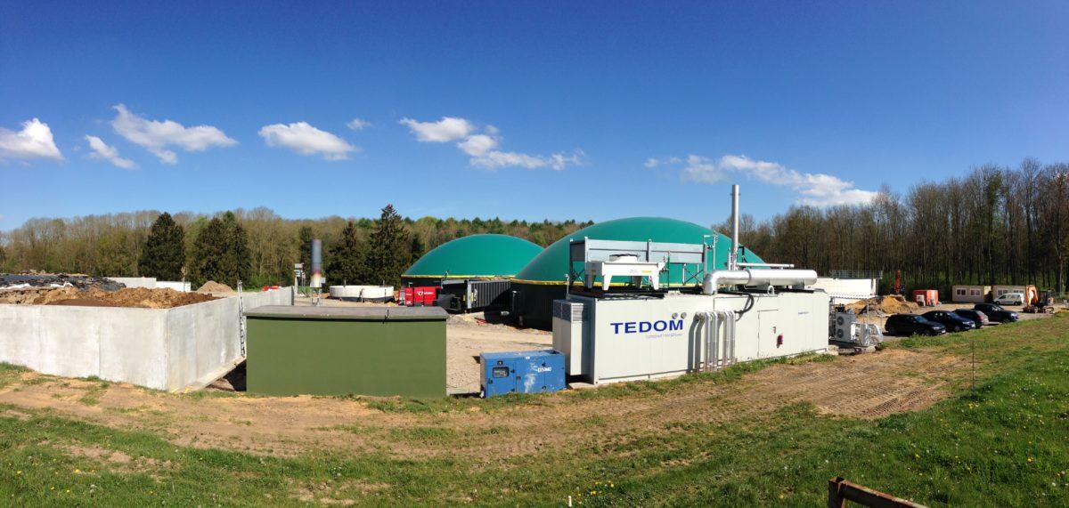 L'unité de cogénération biogaz d'Ochain est en fonctionnement !