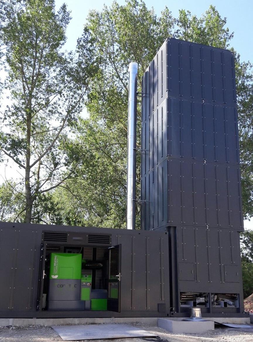 La maison de repos Werson s'équipe d'une centrale de cogénération biomasse