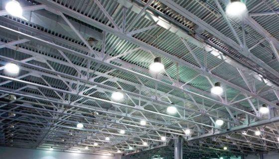 LED relamping van het bedrijft Sulzer in Thimister-Clermont.