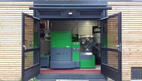 Ce 21/11/2018, la Commune Les-Bons-Villers inaugurait sa nouvelle chaufferie biomasse.