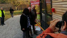 Op 21/11/2018 heeft de gemeente Les-Bons-Villers haar nieuwe biomassacentrale ingehuldigd tijdens de week van de energie,