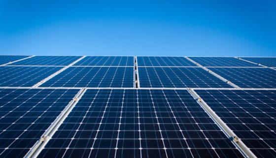 831 zonnepanelen op de daken van een landbouwbedrijf.