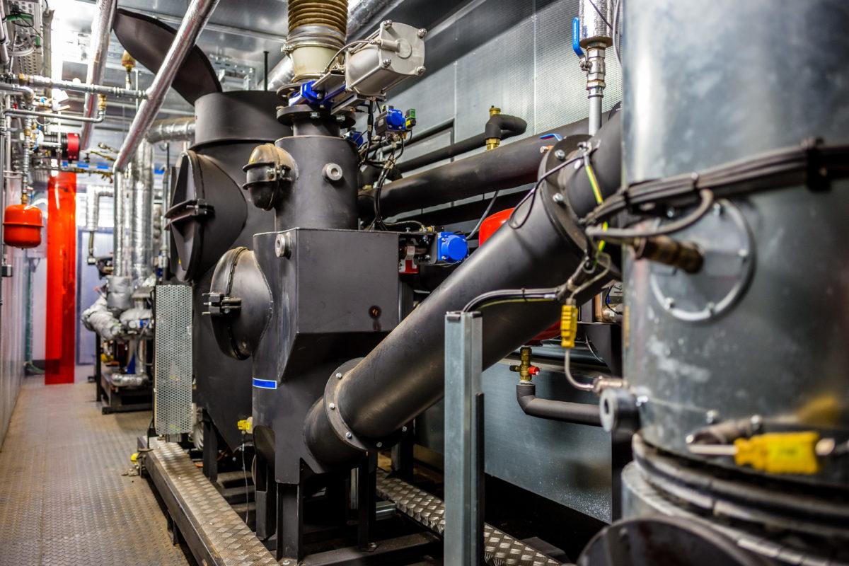 Installation d'une cogénération biomasse à l'ISMJ