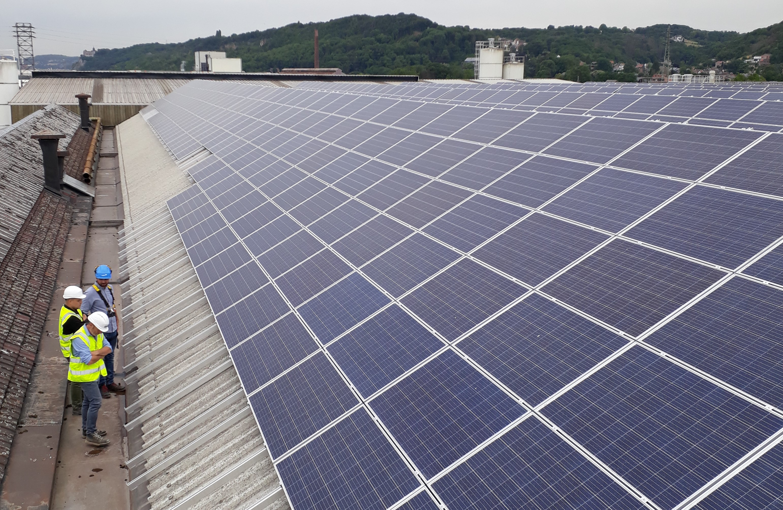 Twee fotovoltaïsche installaties voor de Portier-groep