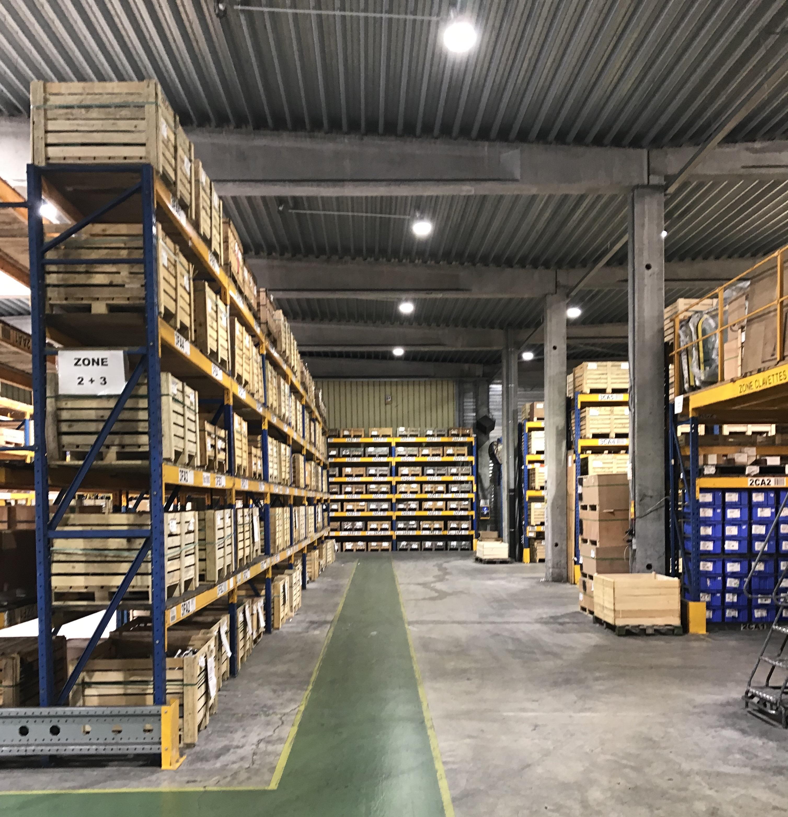 LED-verlichting bij Esco Corp