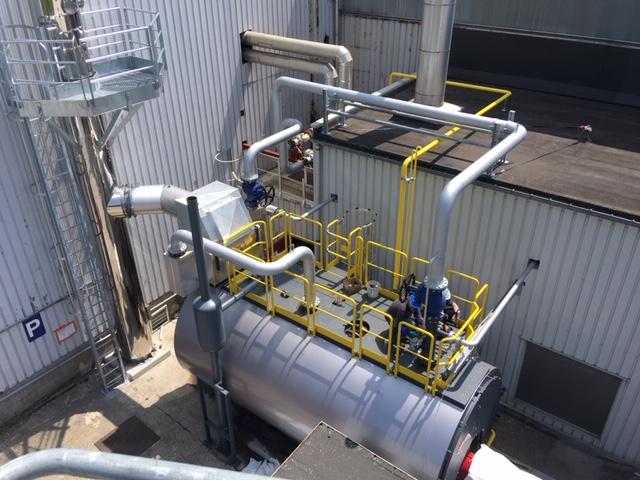 Une nouvelle chaudière «outdoor» chez Arcelor Mittal
