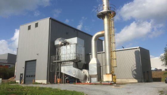 «Enerwood», une installation de cogénération biomasse