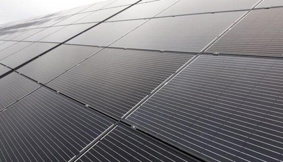 Fotovoltaïsche installatie bij de Proxy Delhaize in Braives