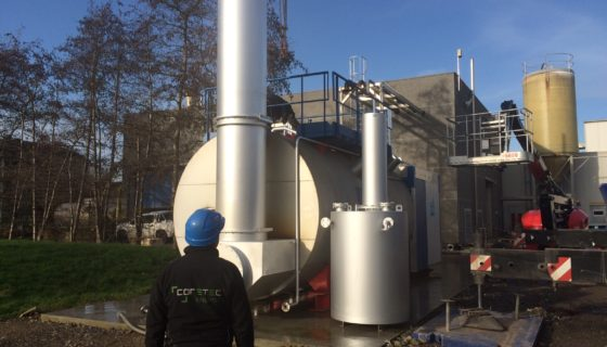 Chaudière vapeur en location chez Hesbaye Frost