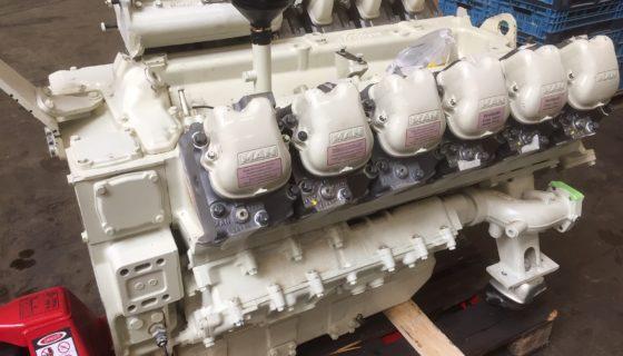 Révision de mi-vie du moteur chez Prayon Silox à Engis