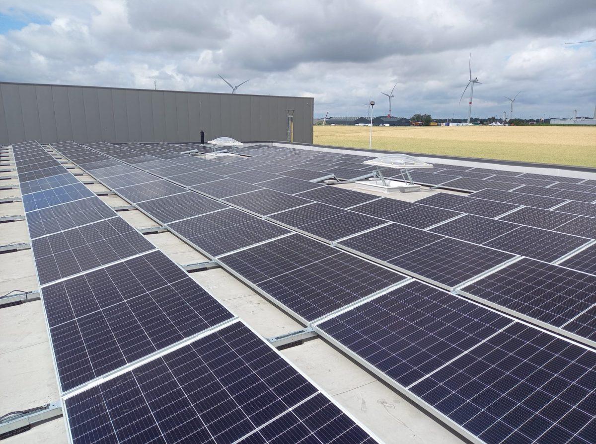 Installation photovoltaïque chez Collon SPRL