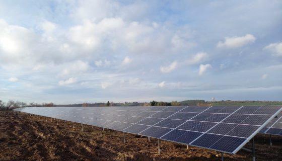 Installation photovoltaïque à la SWDE