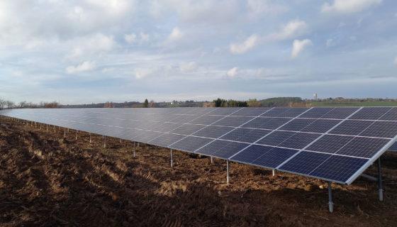 Fotovoltaïsch systeem bij SWDE