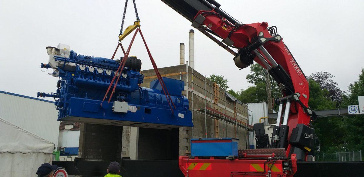 Installation d'une cogénération de 1.200 kWe sur le site de Corman