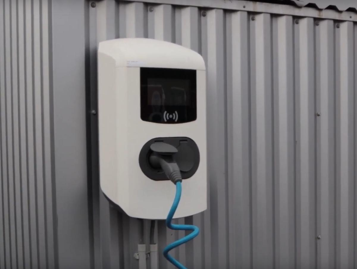 Nouveau produit: les bornes de rechargement