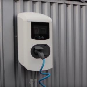 Borne de recharge électrique en entreprise