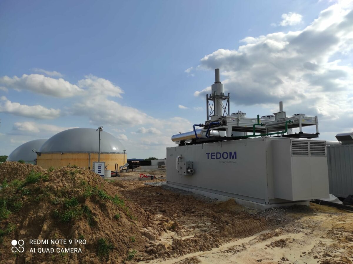 Project voor Biogas herinjectie bij BBA
