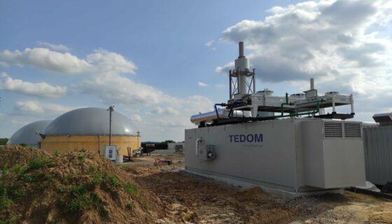 Projet de réinjection biogaz chez BBA