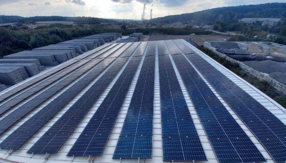 Installation de panneaux photovoltaïques chez Prefer Metal