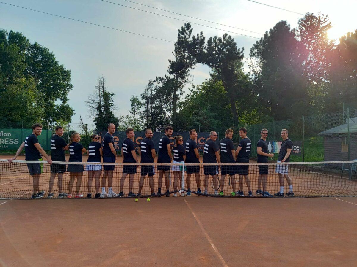 Tennis toernooi bij Coretec Energy