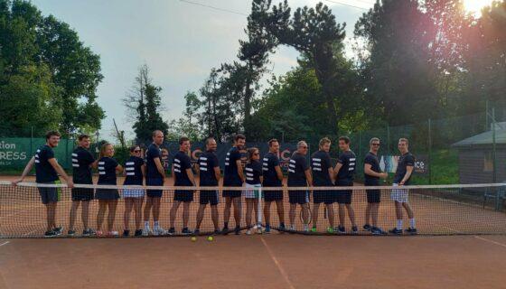 Tournoi de tennis chez Coretec Energy